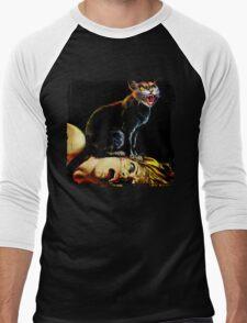 Bava's Cat Men's Baseball ¾ T-Shirt