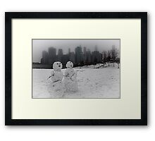 The Visitors Framed Print