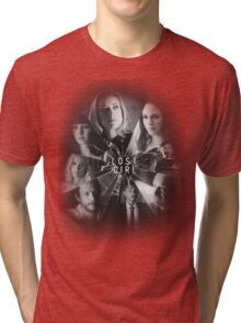 Lost girl - broken glass [black] Tri-blend T-Shirt