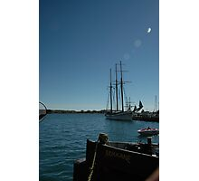 Tall ship in Toronto Photographic Print