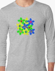 Flower Power 60s-70s Long Sleeve T-Shirt