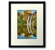 Raymond Creek Falls Framed Print