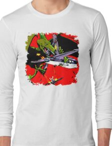 Dino War Long Sleeve T-Shirt