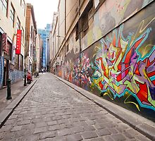 Hosier Lane Centre by Esther Frieda