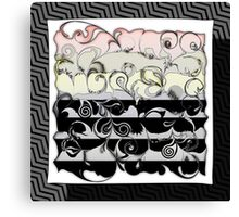 Color Fade Abstract Art Canvas Print