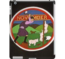 November i-pad iPad Case/Skin