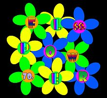 Flower Power 60s-70s by dedmanshootn