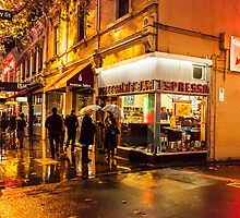 Pellegrinis Night Rain Umbrellas by Esther Frieda