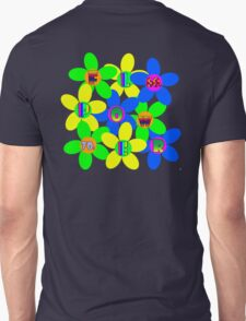 Flower Power 60s-70s T (back) T-Shirt