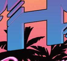 VHS Dreams Summer Logo Sticker