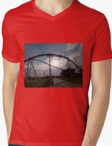 Fury 325 at Carowinds Mens V-Neck T-Shirt