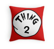 Thing 2 - gift idea, matching family- vacations Throw Pillow
