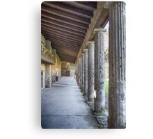 Pompei Canvas Print