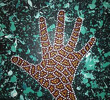 Paint my Hand 2 by LESLEY B