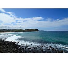 Looking North To Lennox Head Photographic Print