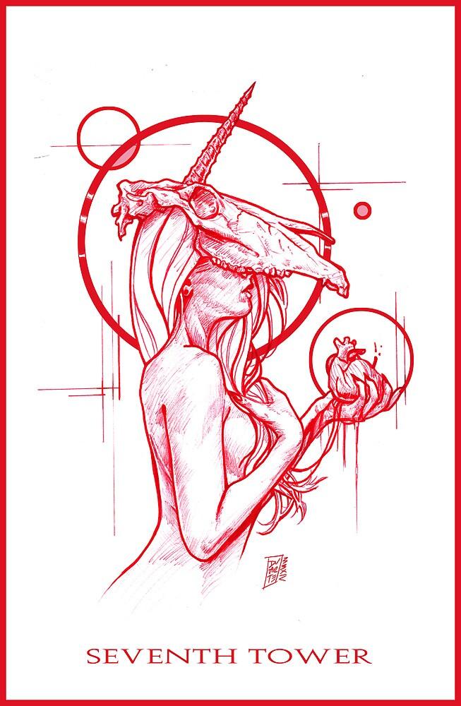 The Heart of the Unicorn by SeventhTowerART