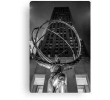 Rockefeller Tower Canvas Print