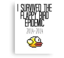 I Survived The Flappy Bird Epidemic Canvas Print