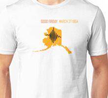 ALASKA EARTHQUAKE ~ GOOD FRIDAY ~ Big AK ~ for dark shirts Unisex T-Shirt