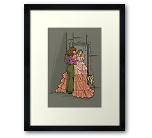 The Shindig Dress Framed Print