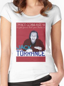 Jack Torrance Women's Fitted Scoop T-Shirt