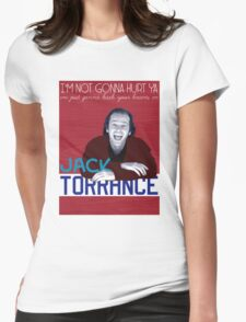 Jack Torrance Womens Fitted T-Shirt