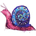 Trippy Snail by Victoria Swigart