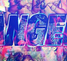 Psychedelic bangerz cover  Sticker