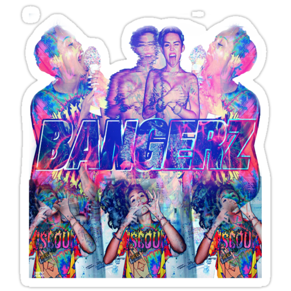 Psychedelic bangerz cover  by Victoria Swigart