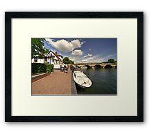 Henley Bridge  Framed Print