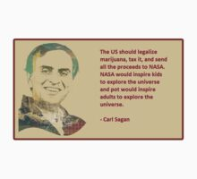 Carl Sagan on marijuana funding NASA by theguyontheleft