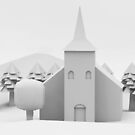 the lonely church by parisiansamurai
