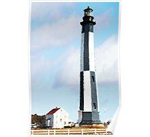 Lighthouse Living - New Cape Henry Lighthouse Poster