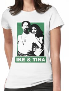 Ike and Tina Womens Fitted T-Shirt