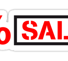 Sale sale percent reduced price tag Sticker