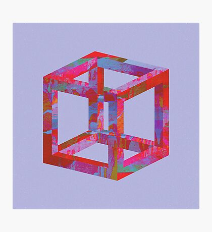 Impossible Cube Photographic Print