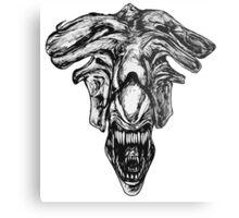 Queen Xenomorph Metal Print