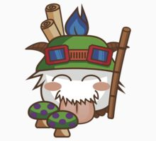 Teemo Poro by sylview