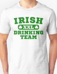 XXL Irish Drinking Team St Patricks Day Hoodie Unisex T-Shirt