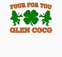 Glen Coco Lucky Clover St Patricks Day T Shirt Men's Baseball ¾ T-Shirt