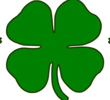 Glen Coco Lucky Clover St Patricks Day T Shirt Sticker