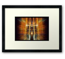 ©NLE Move The Light IC Framed Print
