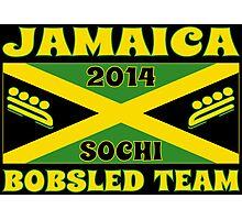 2014 Jamaican Bobsled Team Sochi Olympics T Shirt Photographic Print