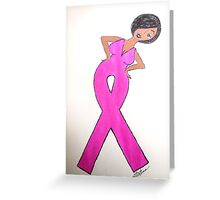 Breast Cancer Awareness Card Greeting Card