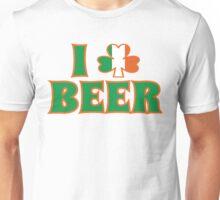 I Love Shamrock Beer St Patricks Day Unisex T-Shirt