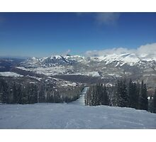 Colorado Mountains: Telluride Photographic Print