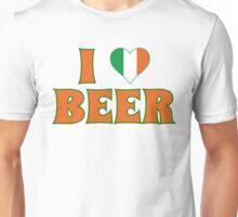I Love Heart Beer St Patricks Day Unisex T-Shirt