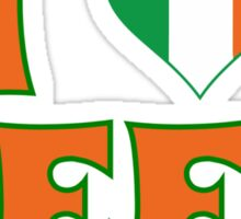 I Love Heart Beer St Patricks Day Sticker