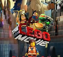 The Lego Movie Poster by Hadam10Rose