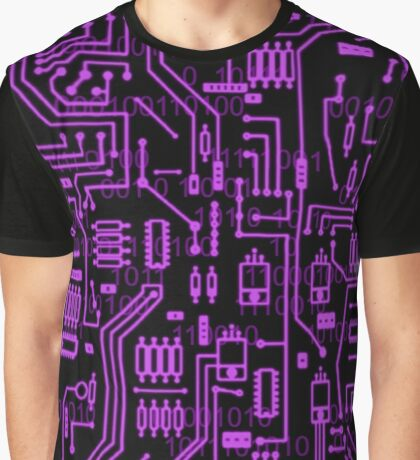 Cyber Circuits Graphic T-Shirt